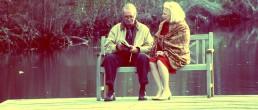 James Garner and Gena Rowlands in The Notebook